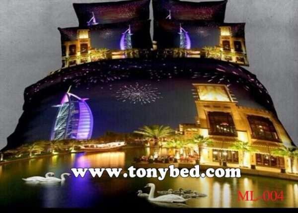 drap trải giường 3D